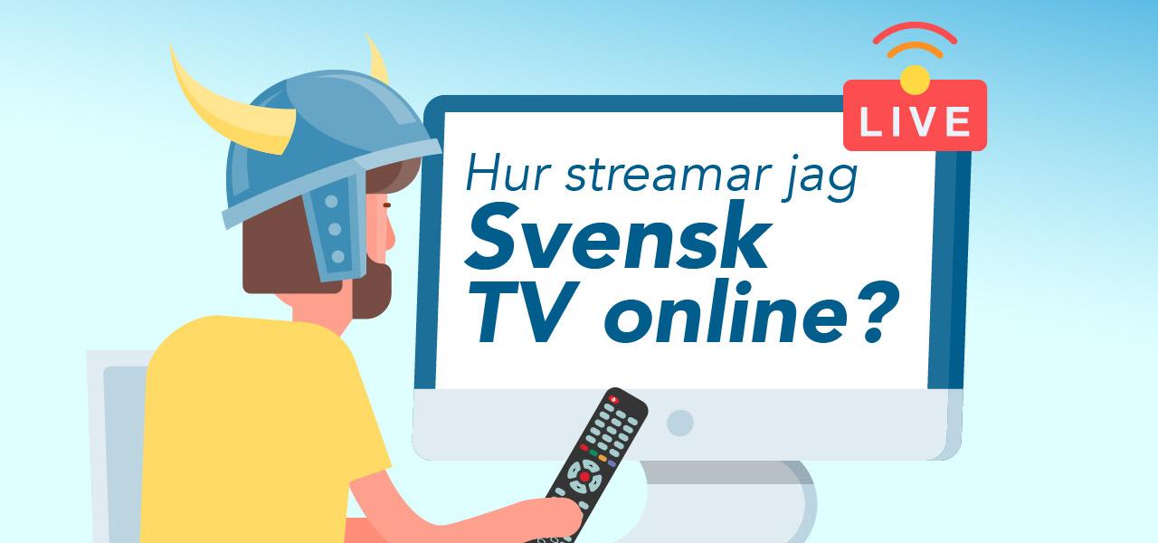svensk tv utomlands