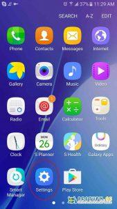 Android VPN Manuell inställning 1