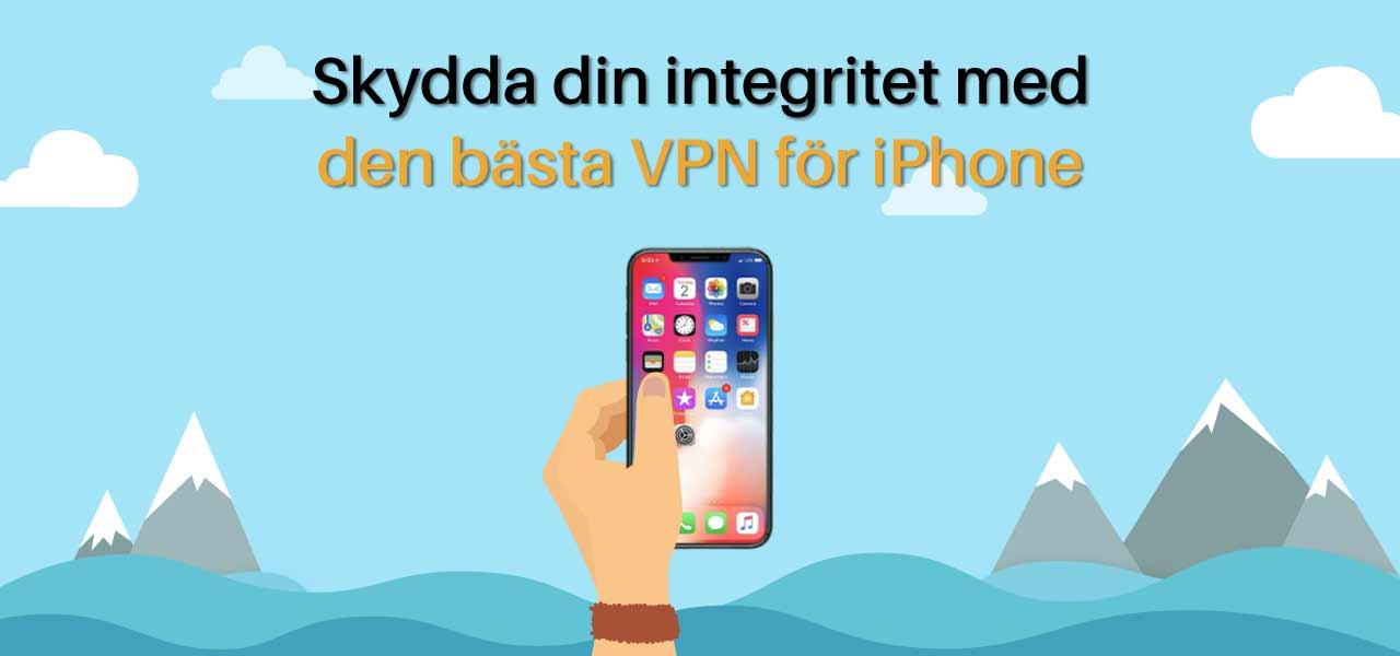 iPhone VPN Sverige