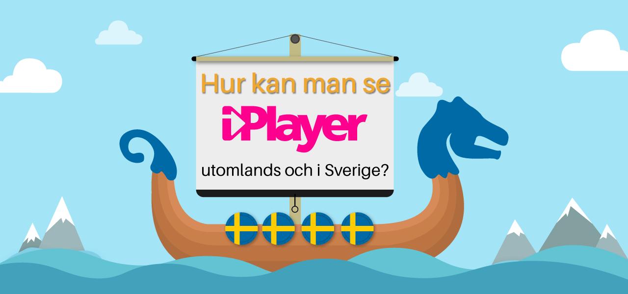 Hur kan man se iPlayer utomlands och i Sverige?