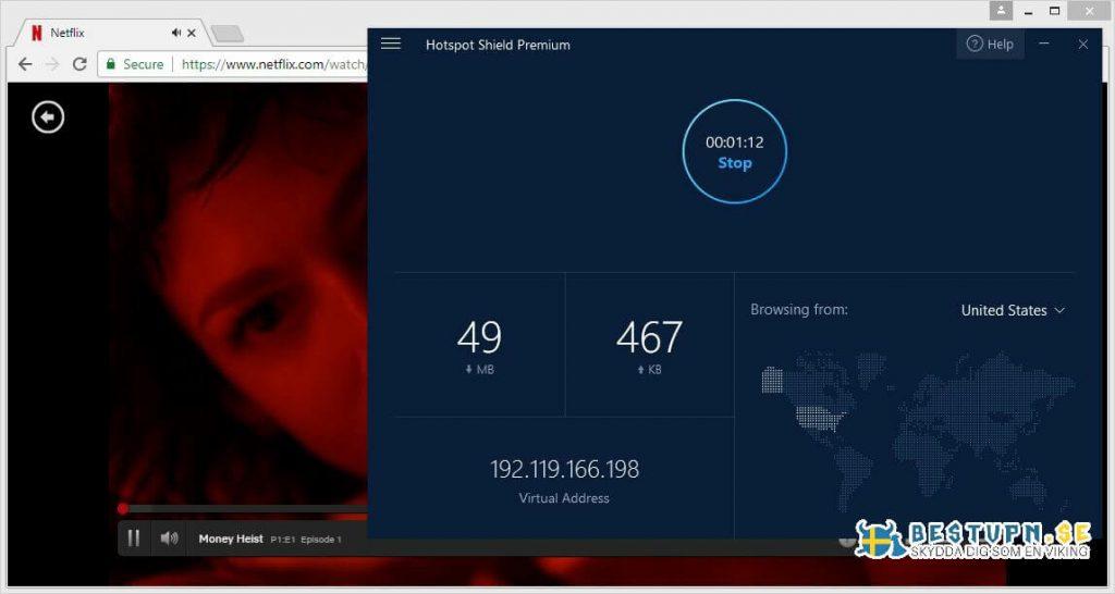 Titta på Netflix USA med Hotspot Shield
