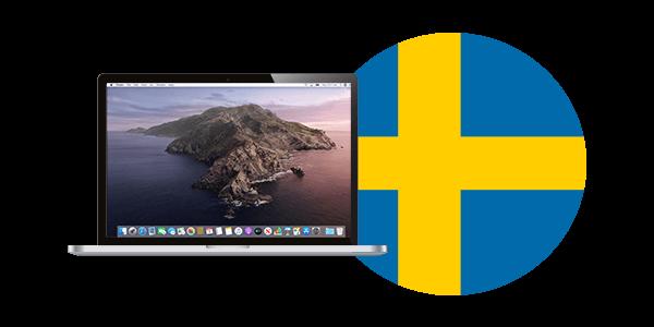 VPN för Mac Sverige