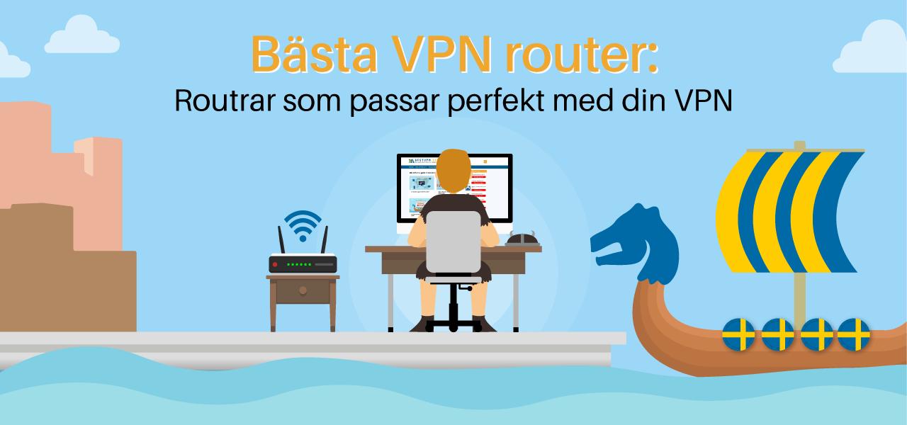 Routrar som passar perfekt med din VPN