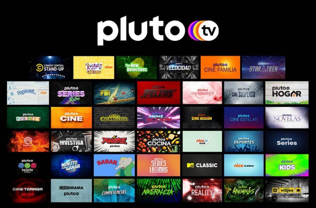 Pluto TV online