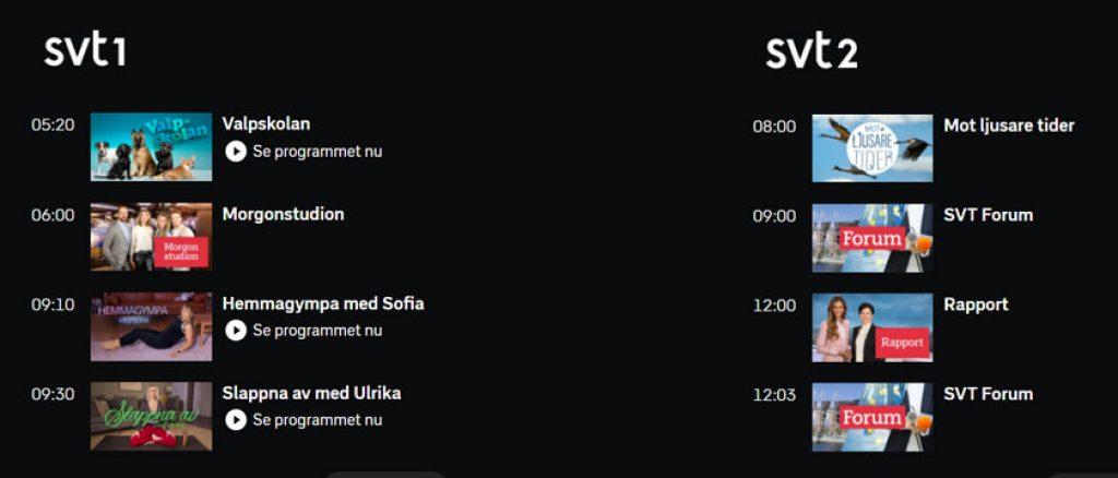 se SVT Play utomlands